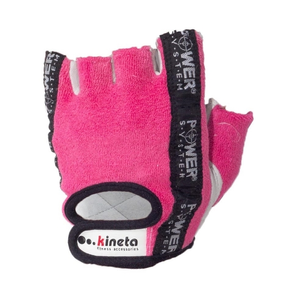 Slika od Fitness Gloves Kineta Power System Pink